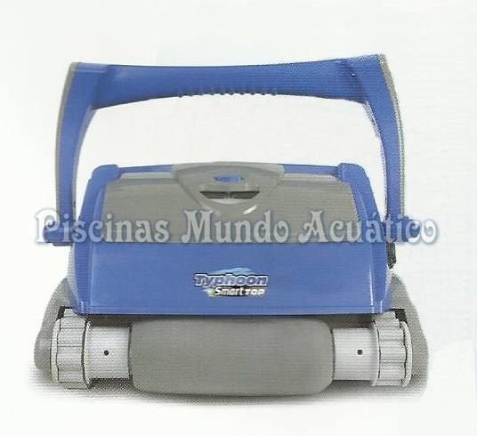 Limpiafondos autom tico electr nico para piscina typhoon for Limpiafondos automaticos para piscinas